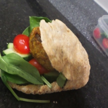 Stuffed into a Food Doctor Pitta
